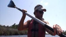 Saltwater Marshes in a Kayak