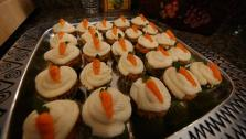 Mini Carrot Top Cupcakes
