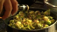 Brussels Sprouts with Prosciutto