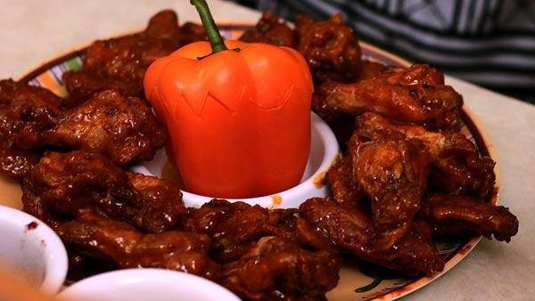 Sweet and Heat Wings