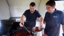 Joey Fatone Learns St. Louis BBQ Grilling Secrets