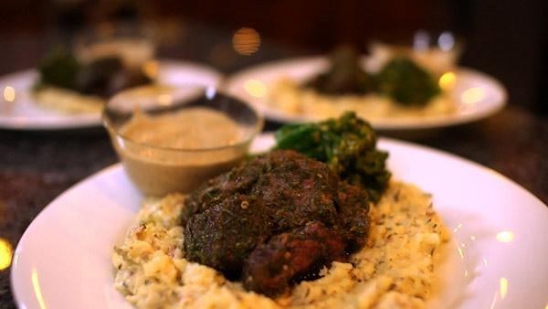 Beef tenderloin with a flavorful herb marinade makes for an easy and delicious main dish.