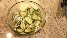 Korean Cucumber Salad