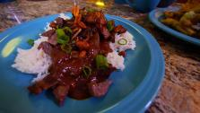 Skirt Steak with Massaman Sauce