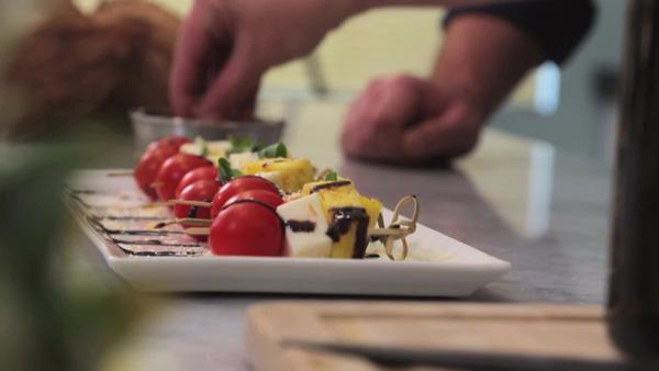 Kauai Pineapple Caprese Salad Skewers