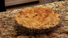 Hannukah Apple Pie