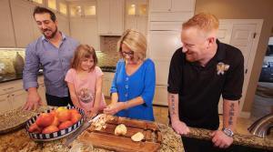 Hanukkah Cooking with an American Hero