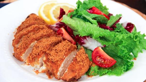 Crispy Gingersnap Chicken | Steven and Chris | The Live Well Network