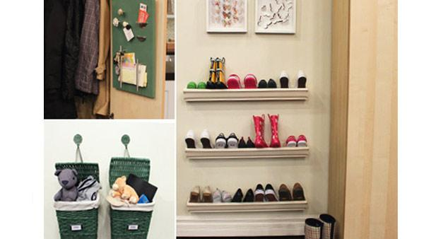 Family Entryway Storage | Steven and Chris | The Live Well Network