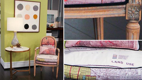 Re-upholstering a Furniture Bank Chair