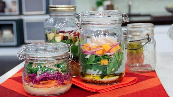 Build Your Own Salad Jars