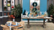 Hilary Farrs Holiday Dessert Table