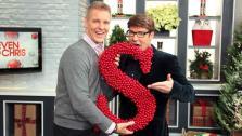 Monogram Cranberry Wreath