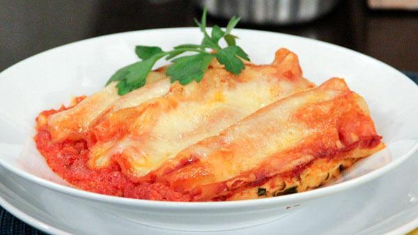 Best of Bridge Sweet Potato Cannelloni