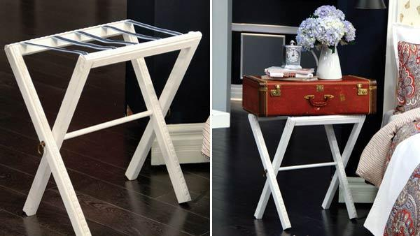 DIY Luggage Stand