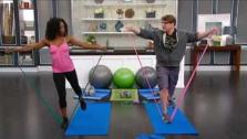 Reinvigorating Resistance Band Workout