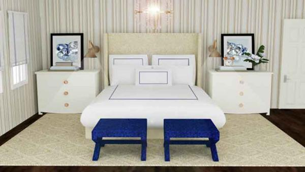 Complete Episode: Get the Look: Hotel Chic Bedroom