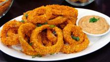 Kettle Chip Crusted Onion Rings