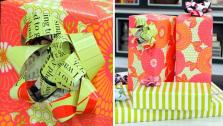 DIY Magazine Gift Bows