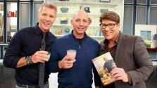 Harley Pasternak with Steven and Chris