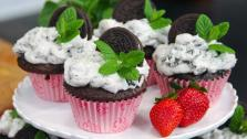 Mint Cookies n Cream Cupcakes