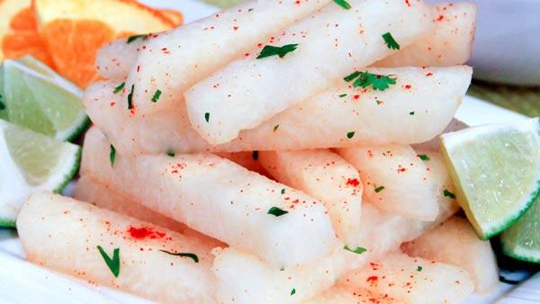 Jicama Sticks with Chile and Lime