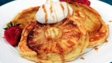 Upside Down Pineapple Pancakes