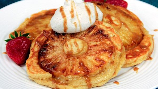 Snooze Pineapple Upside Down Pancakes Recipes — Dishmaps