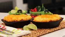 Chili Cornbread Cobbler