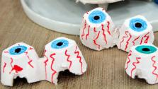DIY Project: Egg Cartons as Scary Eyes