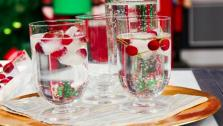 New Garnish for Classic Holiday Drinks