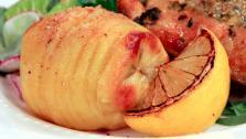 Swedish Roast Hasselback Potatoes