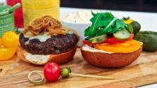 Dish Do-Over: Caramelized Onion and Cheddar Pub Burgers