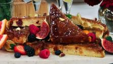 Creme Brulee Panettone French Toast
