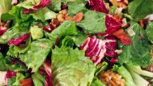 Winter Salad with Warm Walnut Vinaigrette