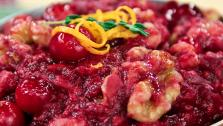 Healthy Swap Nutty Cranberry-Orange Sauce