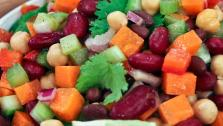 Fibre-Rich Detox Bean Salad