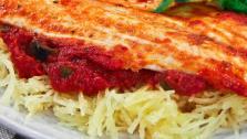 Branzino with Spaghetti Squash