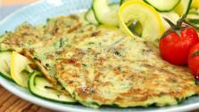 Lunch: Zucchini Mint Pancakes
