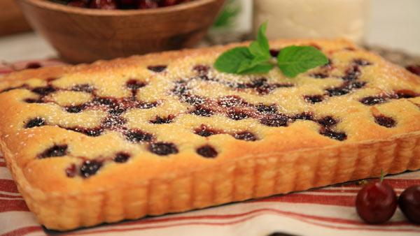 Cherry and Almond Tart | Steven nd Chris | The Live Well Network