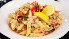 Creamy Calabrese and Sun-Dried Tomato Pasta