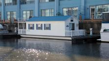 Houseboat at Penns Landing